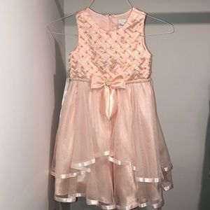 NWOT Girls pink dress